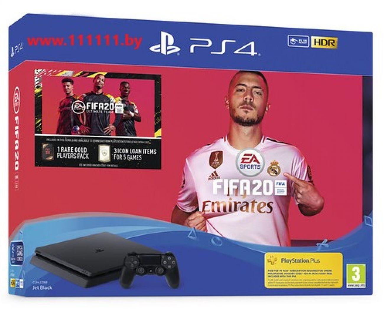 Купить PlayStation 4 - объединить престиж и азарт игры PS4 FIFA 20.