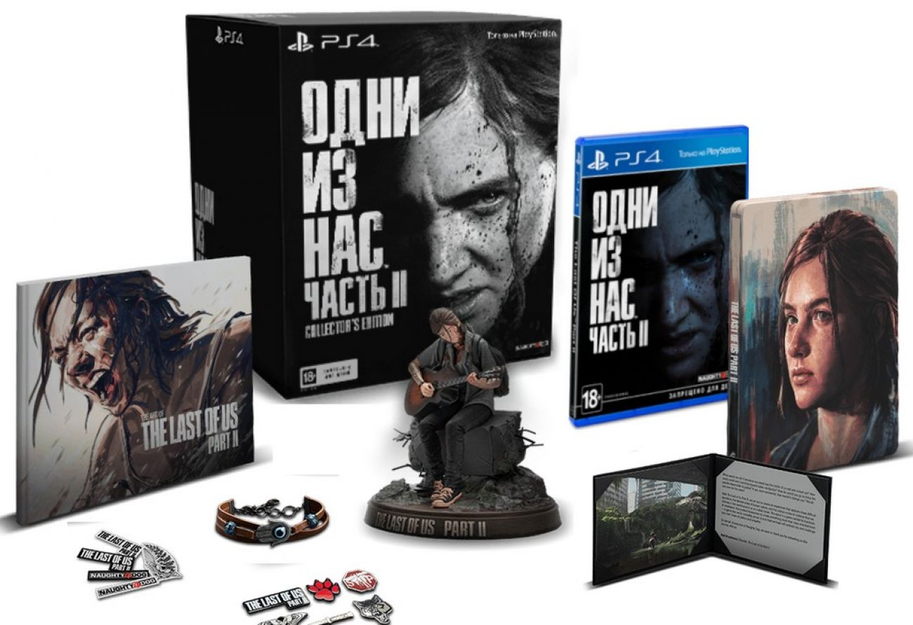 Купить Одни из нас Часть 2 (Last Of Us Part 2) PS4 в Минске