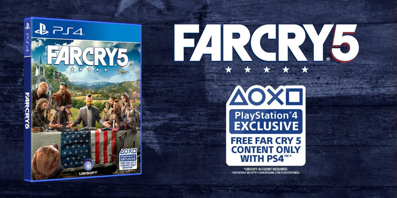 Far Cry 5 для Playstation 4 -    у спей купить со скидкой!
